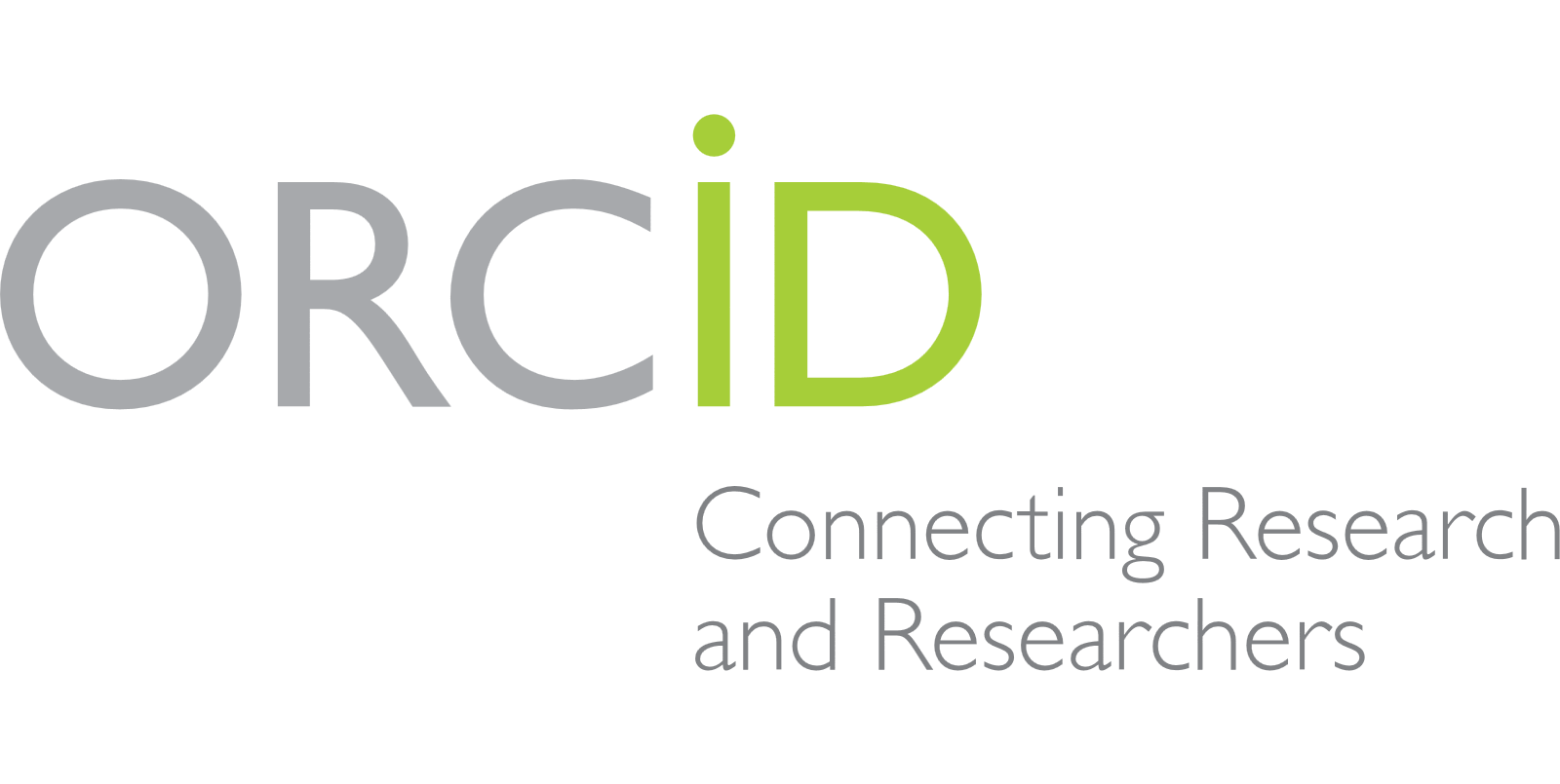 ORCID logo with tagline
