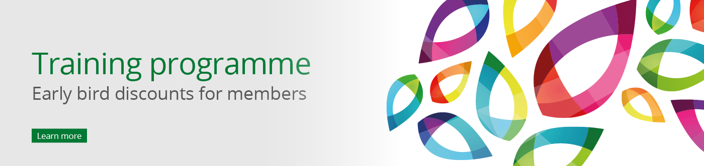 Banner ALPSP Training early bird discounts for members