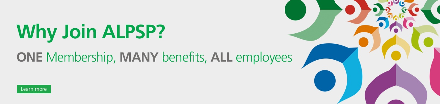 banner Why Join ALPSP One membership Many Benefits All Employees