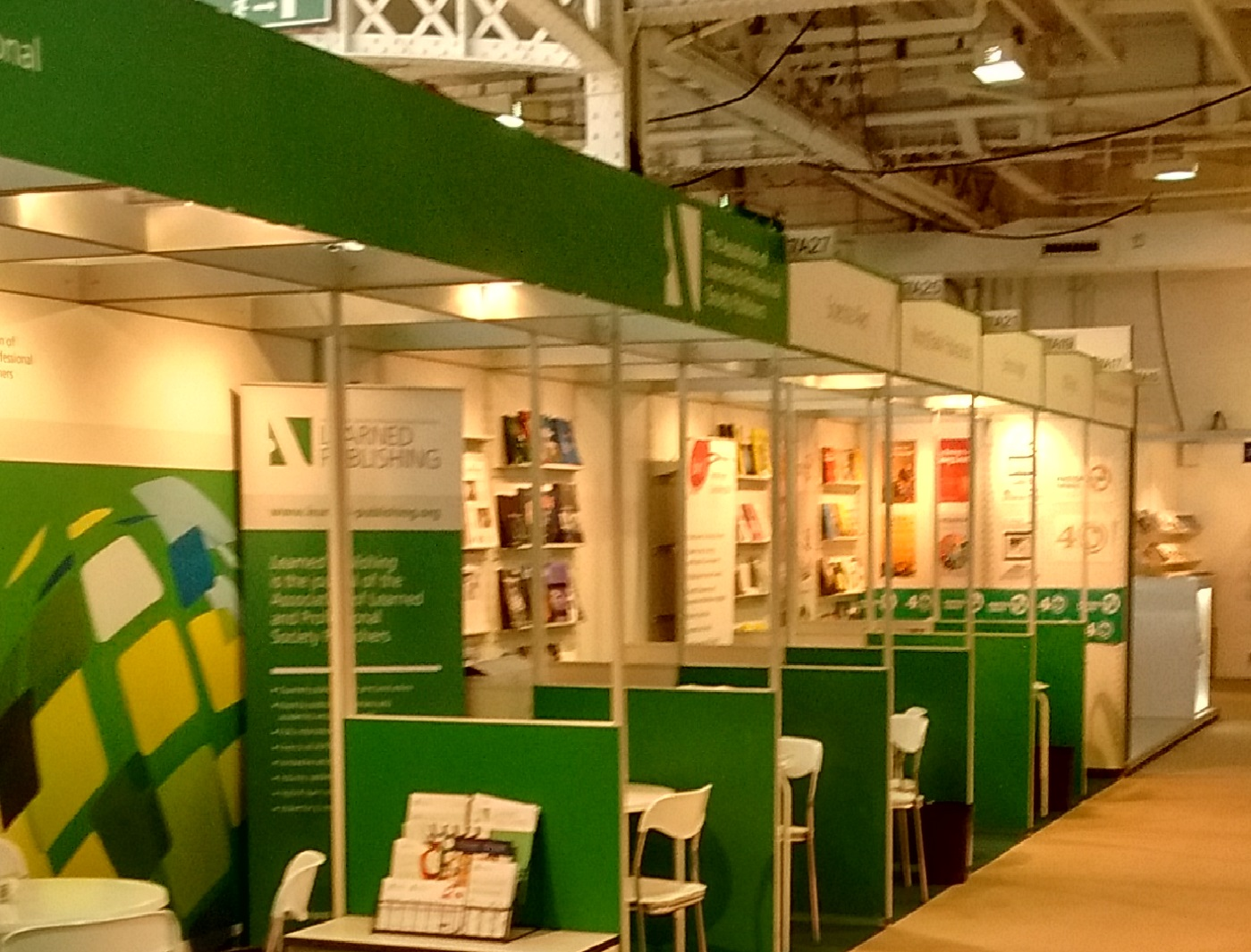 2015 LBF stand