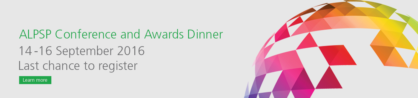 Conference Awards Dinner Last Chance to book banner